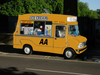 AA Ice Cream Van