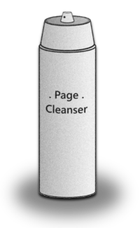 Page Cleanser bottle