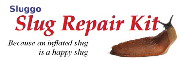 Sluggo slug repair kit