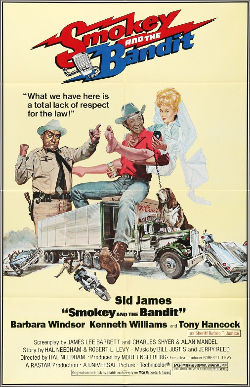 Sid James in Smokey and the Bandit